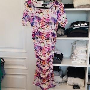 Isabella Oliver Body Con Maternity Dress